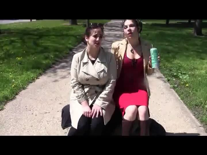 Mistress Xena In Scene: Embarassed In The Park - BIZARRE CINEMA - SD/540p/MP4