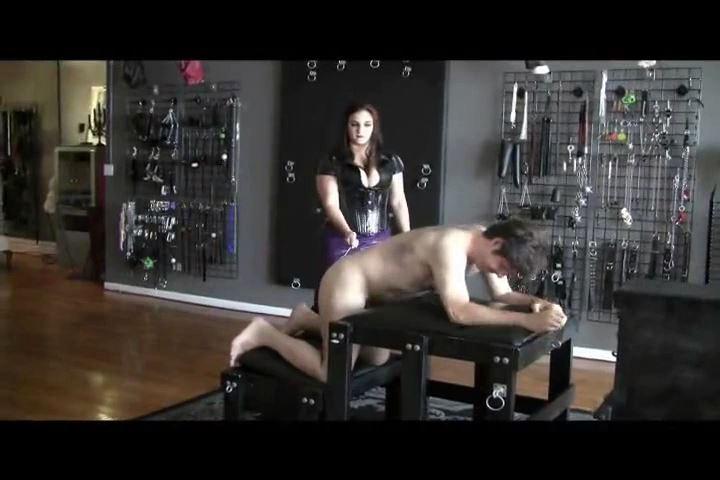 Mistress Xena In Scene: One Caned Whore - BIZARRE CINEMA - SD/480p/MP4