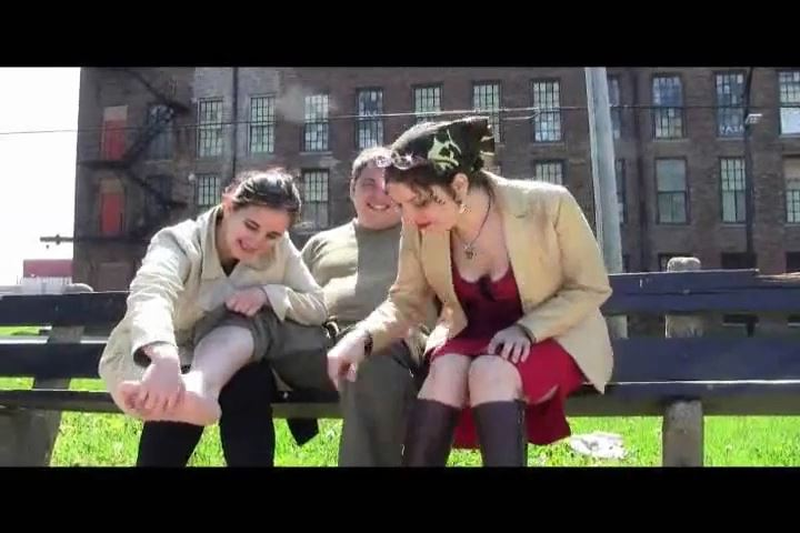 Mistress Xena, Lady Maria In Scene: Tickled in the Park - BIZARRE CINEMA - SD/480p/MP4