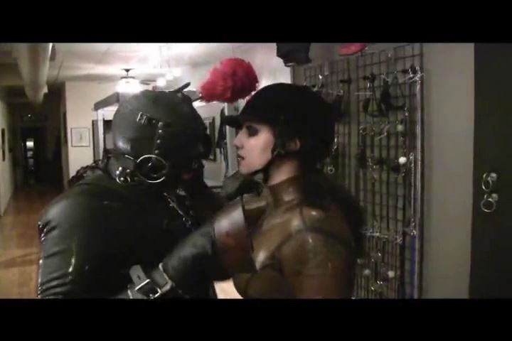 Mistress Xena In Scene: Training My Rubber Pony - BIZARRE CINEMA - SD/480p/MP4