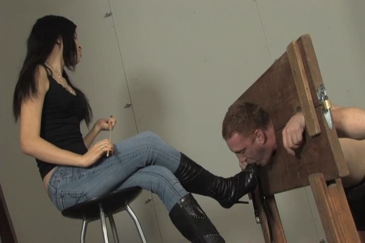 Miss Tiffany In Scene: Watch as I humiliate and torture My new sub - MISS-TIFFANY - SD/480p/MP4