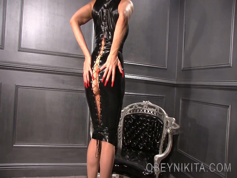 Mistress Nikita In Scene: Loubing My Latex - OBEYNIKITA - FULL HD/1080p/MP4
