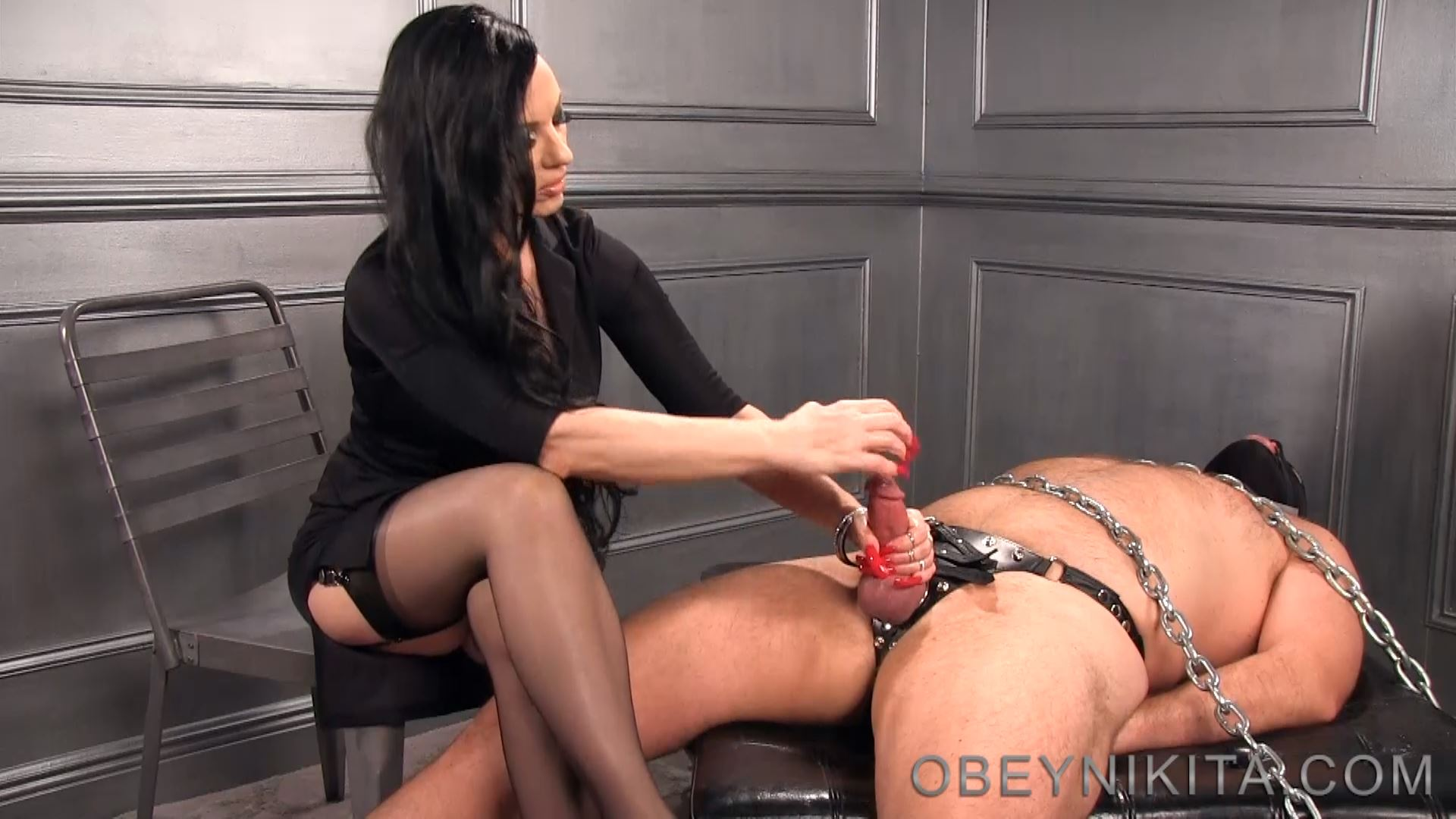 Mistress Nikita In Scene: Bound For My Nails - OBEYNIKITA - FULL HD/1080p/MP4