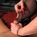 UNDER MY NAILS. FEATURING: MISTRESS NIKITA – OBEYNIKITA – HD/720p/MP4
