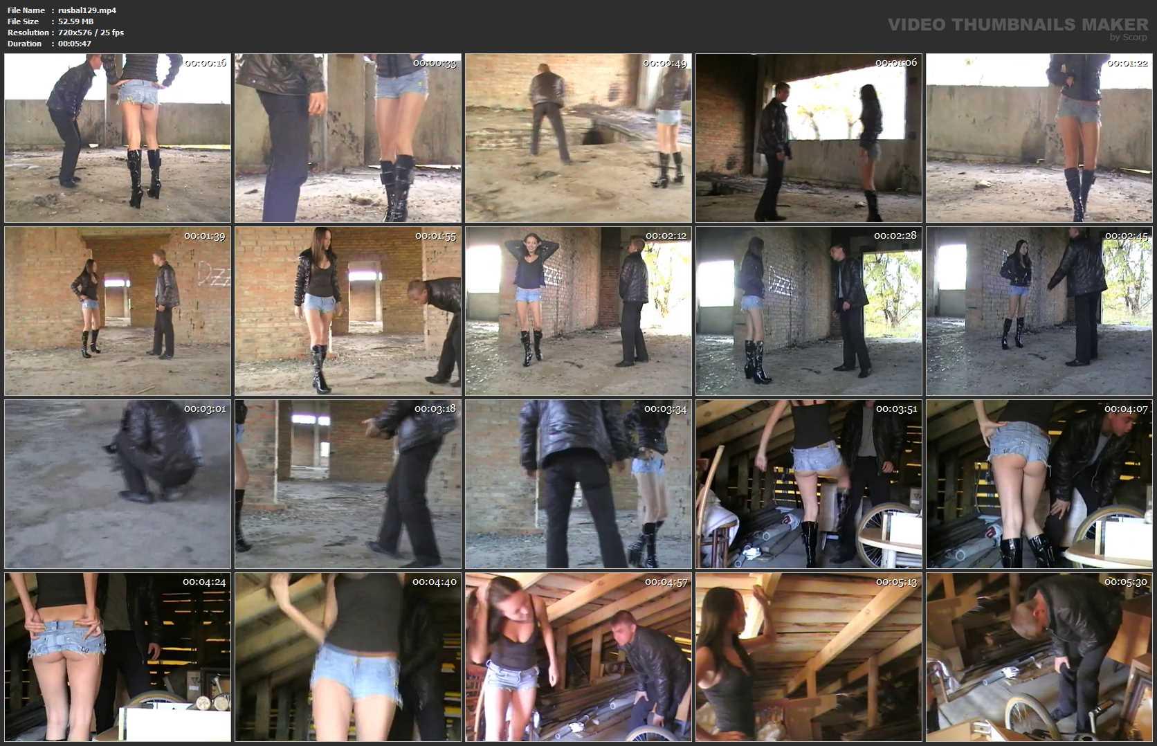 Ballbuster Roksana In Scene: EXACT HIT - RUSSIAN BALLBUSTING / BALLBUSTING ROKSANA - SD/576p/MP4