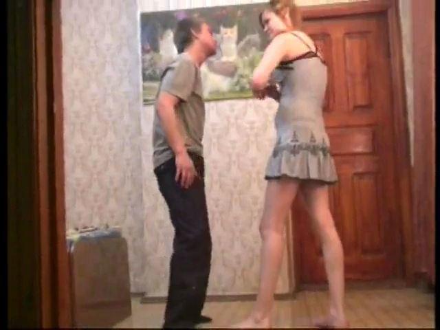 Ballbuster Riana In Scene: NEW GIRL RIANA - RUSSIAN BALLBUSTING / BALLBUSTING ROKSANA - SD/480p/MP4