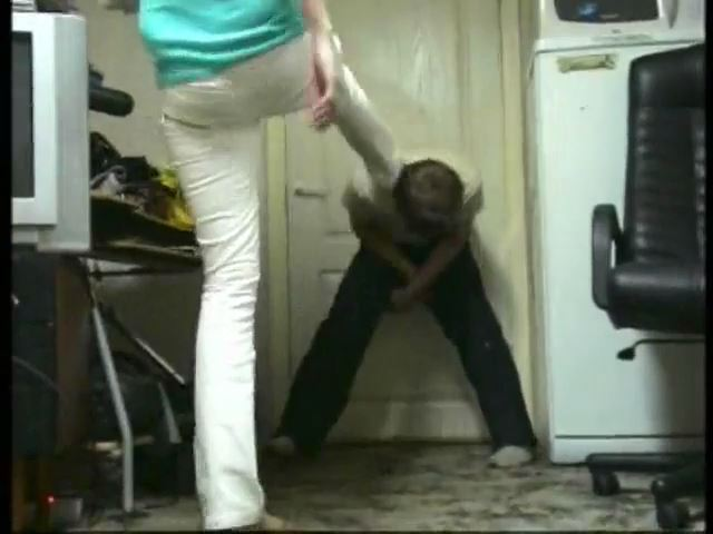 Ballbuster Riana In Scene: I DO NOT TRUST, THAT TO YOU PAINFUL - RUSSIAN BALLBUSTING / BALLBUSTING ROKSANA - SD/480p/MP4