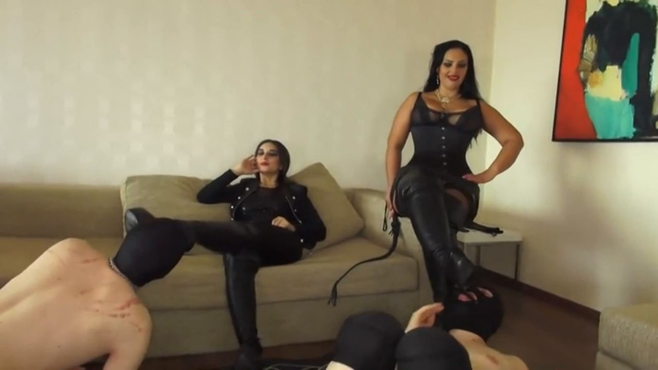Goddess Andreea and 2 girlfriends using the toilet slaves - BIZARRE GODDESSES FROM ROMANIA - HD/720p/MP4