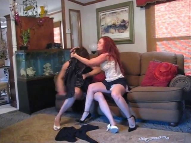 Classic Catfight Scenes Number 6 - CATBALL CATFIGHT AND SEXFIGHT - SD/480p/MP4