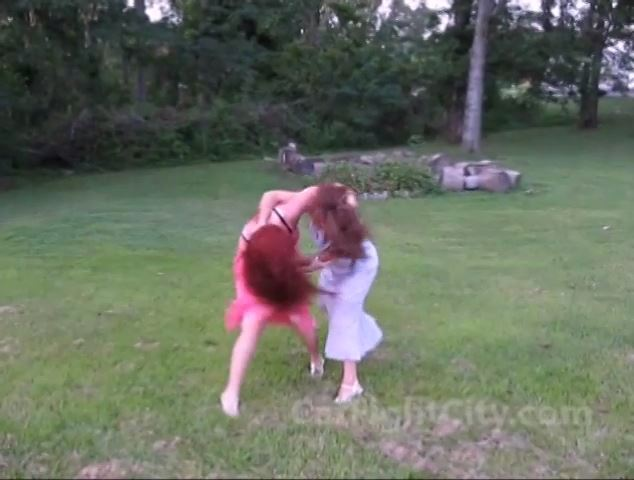 Classic Catfight Scenes Number 3 - CATBALL CATFIGHT AND SEXFIGHT - SD/480p/MP4