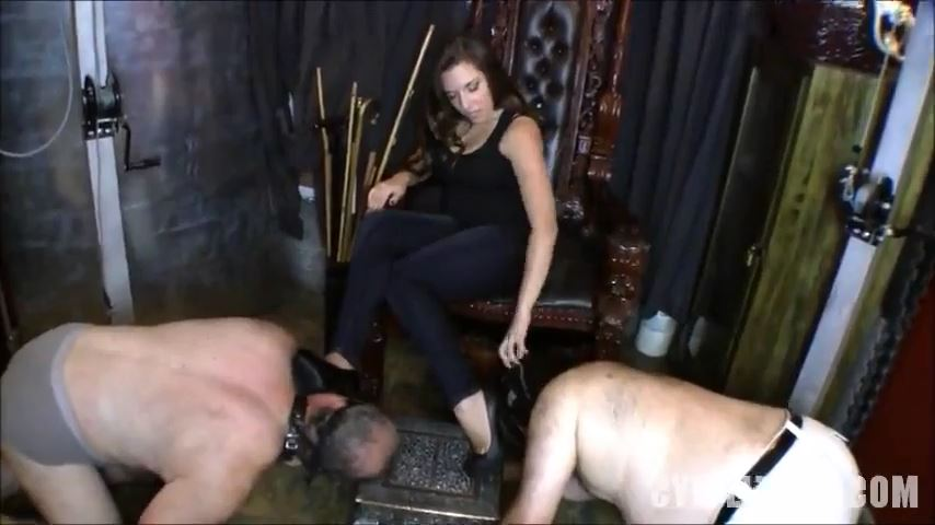 Mistress Cybill Troy In Scene: Foot-Slave Competition - CYBILL TROY'S DTLA DOMINAS / CYBILLTROY - SD/480p/MP4