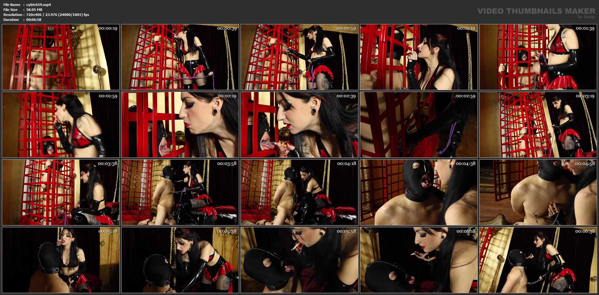 Mistress Cybill Troy In Scene: Does It Burn - CYBILL TROY'S DTLA DOMINAS / CYBILLTROY - SD/406p/MP4