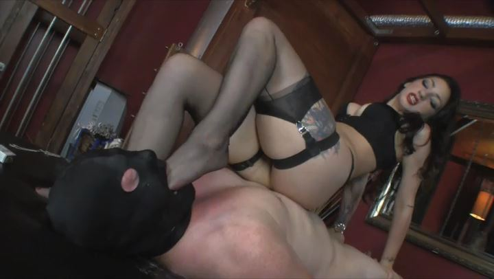 Mistress Cybill Troy In Scene: Gag On It - CYBILL TROY'S DTLA DOMINAS / CYBILLTROY - SD/406p/MP4