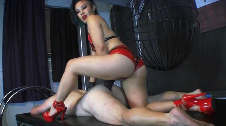 Mistress Cybill Troy In Scene: Slave to Girl Cock - CYBILL TROY'S DTLA DOMINAS / CYBILLTROY - SD/404p/MP4