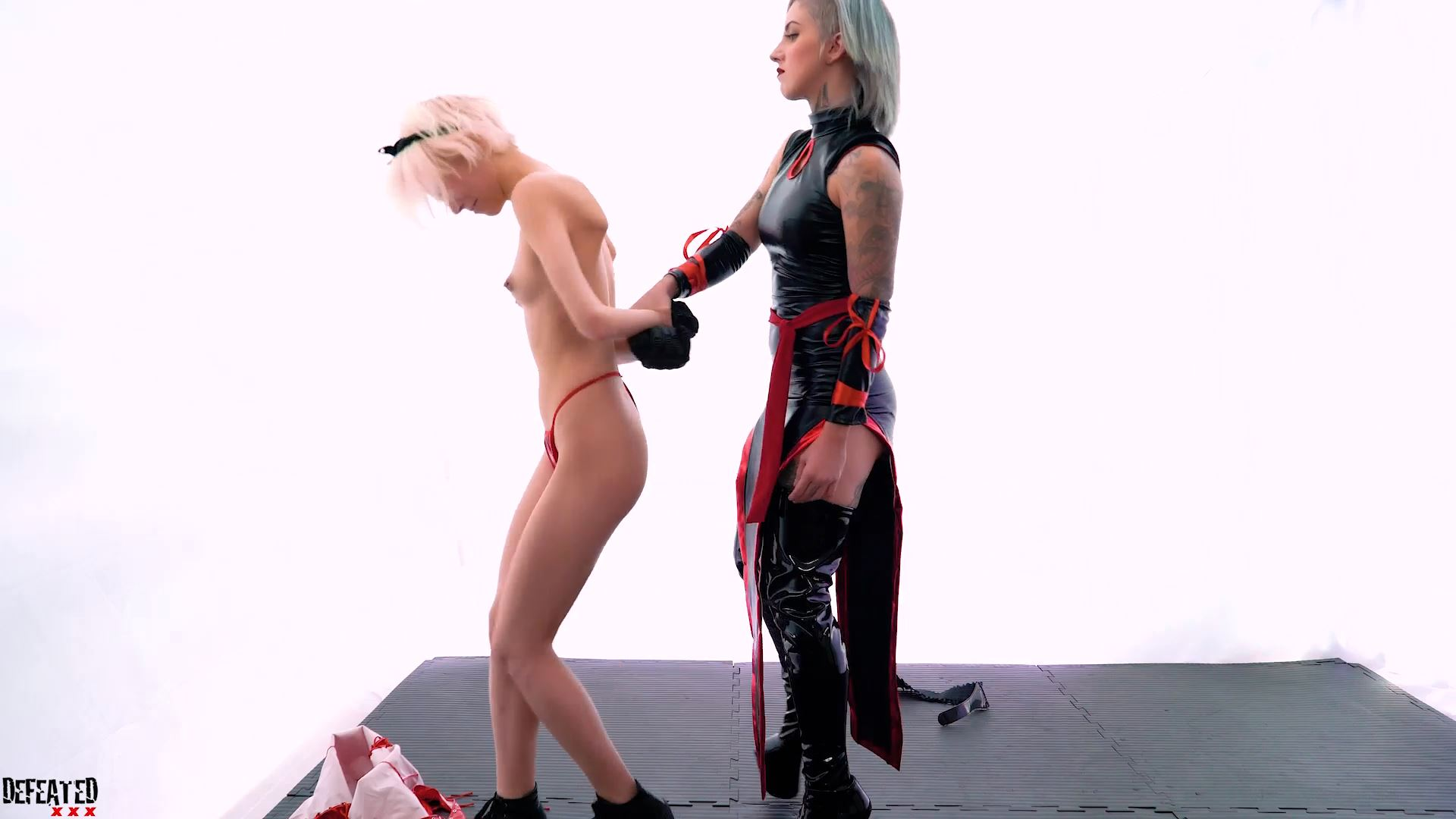 Superior Girl Vs Evil Woman - DEFEATED XXX - FULL HD/1080p/MP4