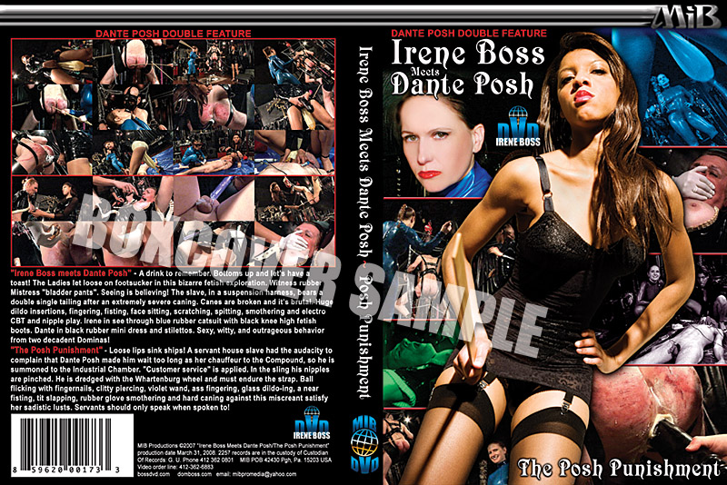 Dante Posh, Domina Irene Boss In Scene: Irene Boss meets Dante Posh - DOMBOSS / MIB PRODUCTIONS - LQ/360p/MP4