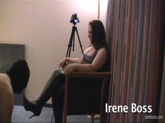 Domina Irene Boss In Scene: Boss Boot Worship in Berlin - DOMBOSS / MIB PRODUCTIONS - SD/480p/MP4