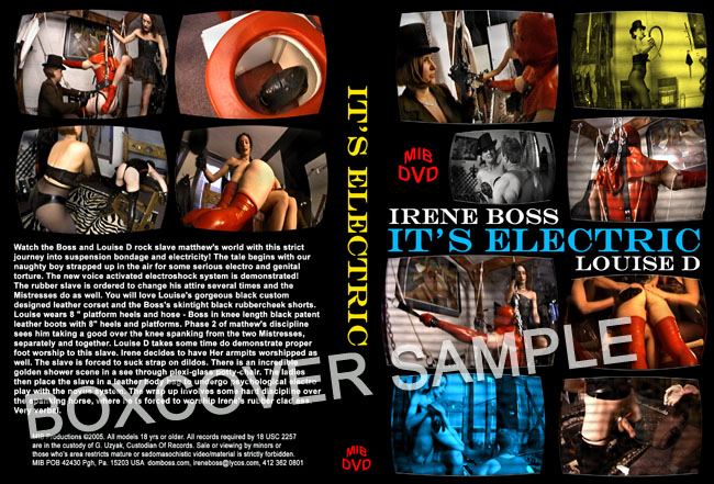 Louise D, Domina Irene Boss In Scene: It's Electric - DOMBOSS / MIB PRODUCTIONS - SD/480p/MP4