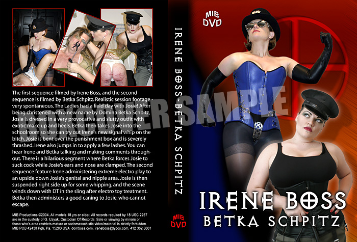 Irene Boss meets Betka Schpitz - DOMBOSS / MIB PRODUCTIONS - SD/480p/MP4