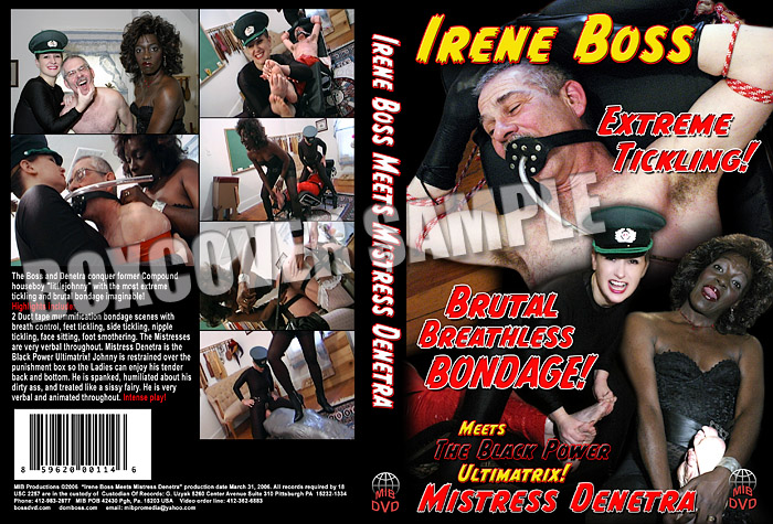 Irene Boss, Mistress Denetra In Scene: Irene Boss meets Mistress Denetra - DOMBOSS / MIB PRODUCTIONS - SD/480p/MP4