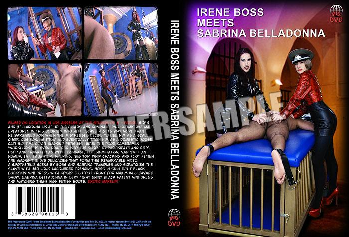 Sabrina Belladonna, Domina Irene Boss In Scene: Irene Boss meets Sabrina Belladonna - DOMBOSS / MIB PRODUCTIONS - SD/480p/MP4
