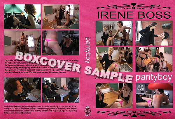 Domina Irene BossLouise D, Mistress Anastasia, Domina Irene Boss In Scene: Pantyboy - DOMBOSS / MIB PRODUCTIONS - SD/480p/MP4