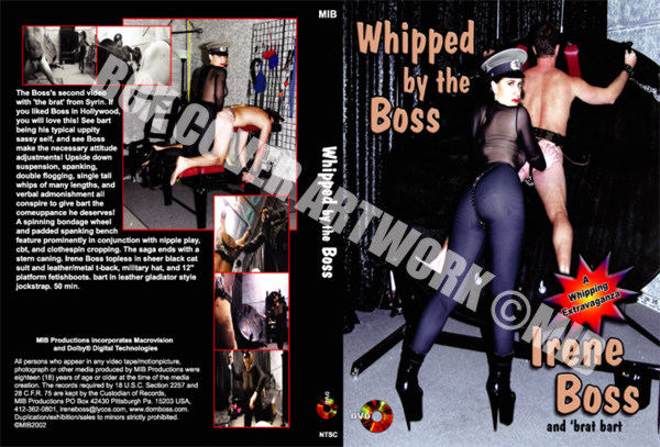 Domina Irene Boss In Scene: Whipped by the Boss - DOMBOSS / MIB PRODUCTIONS - SD/480p/MP4