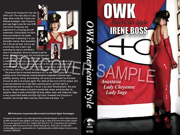 Lady Sage, Mistress Anastasia, Lady Cheyenne, Domina Irene Boss In Scene: OWK American style - DOMBOSS / MIB PRODUCTIONS - SD/480p/MP4
