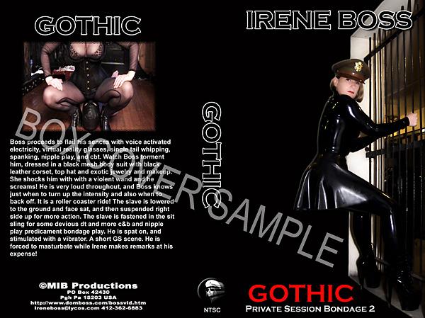 Domina Irene Boss In Scene: Private Sessions Bondage 2 The Gothic - DOMBOSS / MIB PRODUCTIONS - SD/480p/MP4