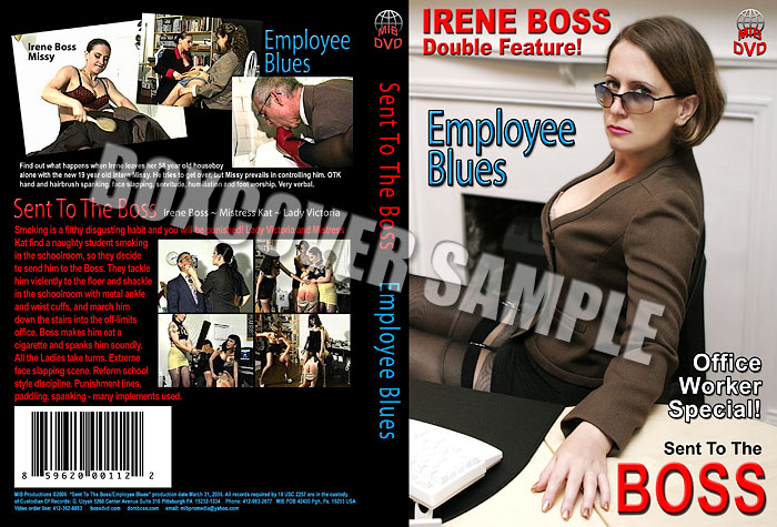 Lady Victoria, Mistress Kat In Scene: Sent to the Boss - DOMBOSS / MIB PRODUCTIONS - SD/480p/MP4