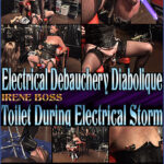 Domina Irene Boss In Scene: Toilet During Electrical Storm – DOMBOSS / MIB PRODUCTIONS – SD/480p/MP4