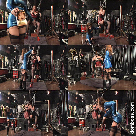 Domina Irene Boss In Scene: Hanging Whore - DOMBOSS / MIB PRODUCTIONS - SD/480p/MP4