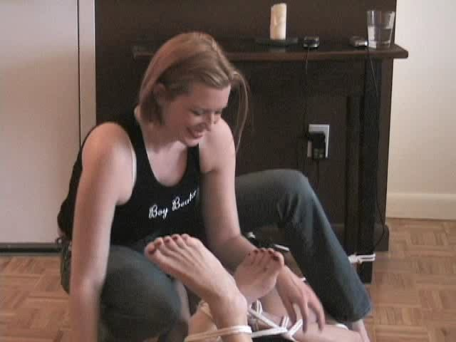 Domina M In Scene: Tickle Torture, 2nd Installent - DOMINA M`s SLAVE TRAINING - SD/480p/MP4