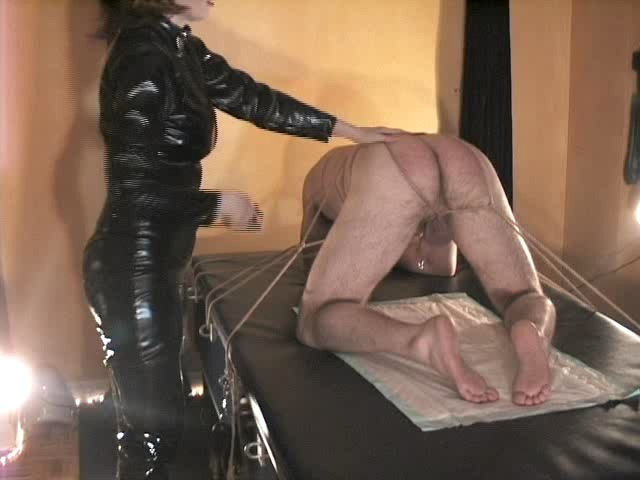 Domina M In Scene: Caned For M's Amusement, 1st Installent - DOMINA M`s SLAVE TRAINING - SD/480p/MP4