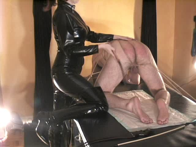 Domina M In Scene: Caned for M�s Amusement: 2nd Installent - DOMINA M`s SLAVE TRAINING - SD/480p/MP4