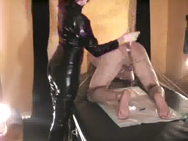 Domina M In Scene: Caned For M's Amusement, 3rd Installent - DOMINA M`s SLAVE TRAINING - SD/480p/MP4