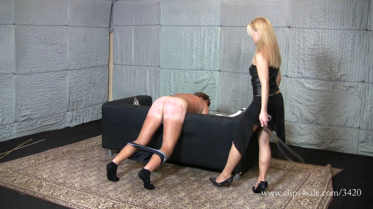 �ruel hard belting with the sadistic lady - ELEGANTFEMDOM - HD/720p/WMV