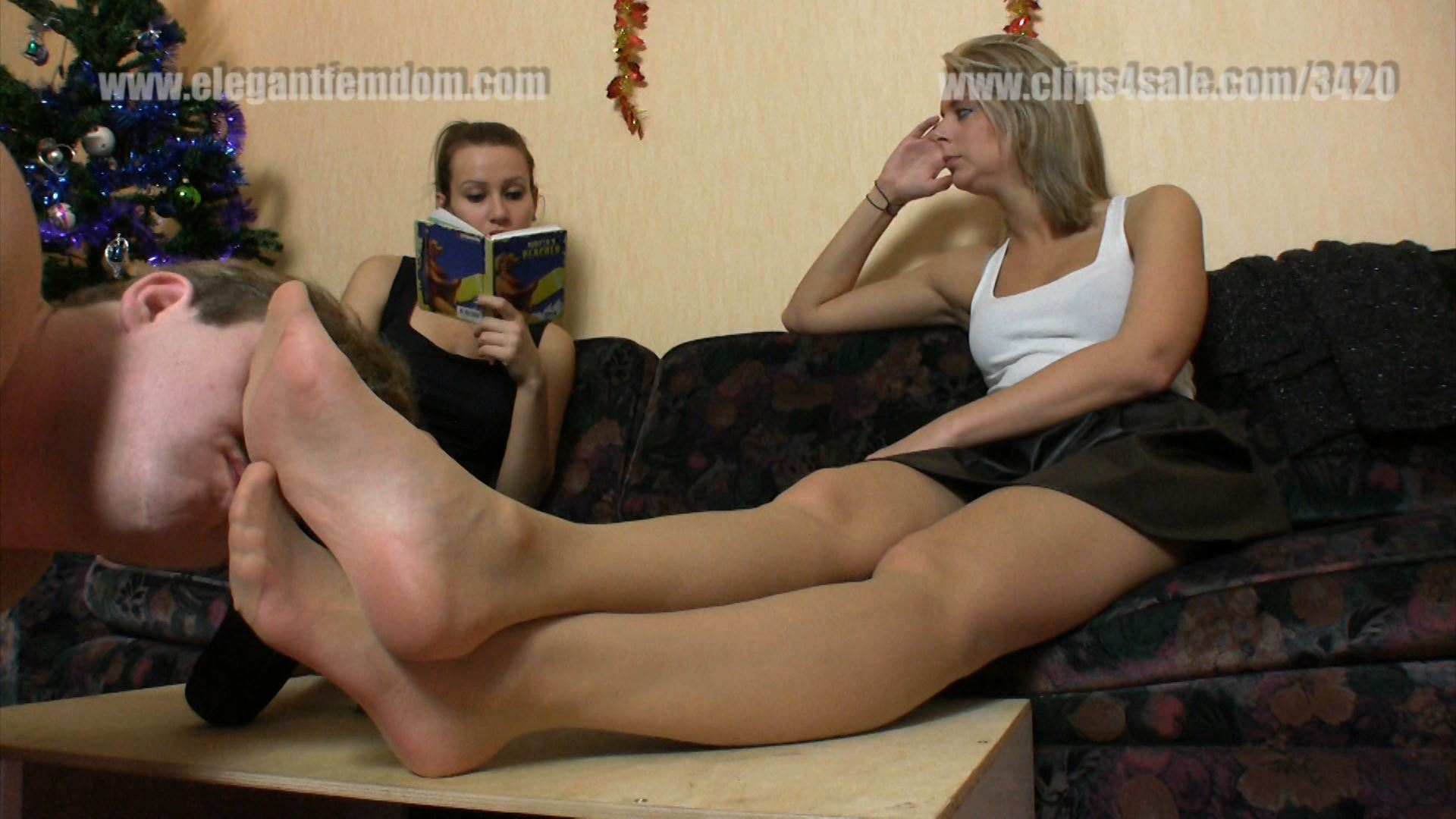 The lowly inferior male smells and pampers - ELEGANTFEMDOM - FULL HD/1080p/MP4
