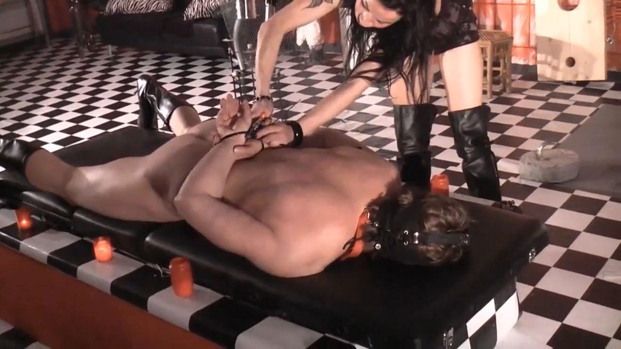 Senora el Combatiente In Scene: Slaves introduction - DEUTSCHE DOMINAS / GERMANY FEMDOM - HD/720p/MP4