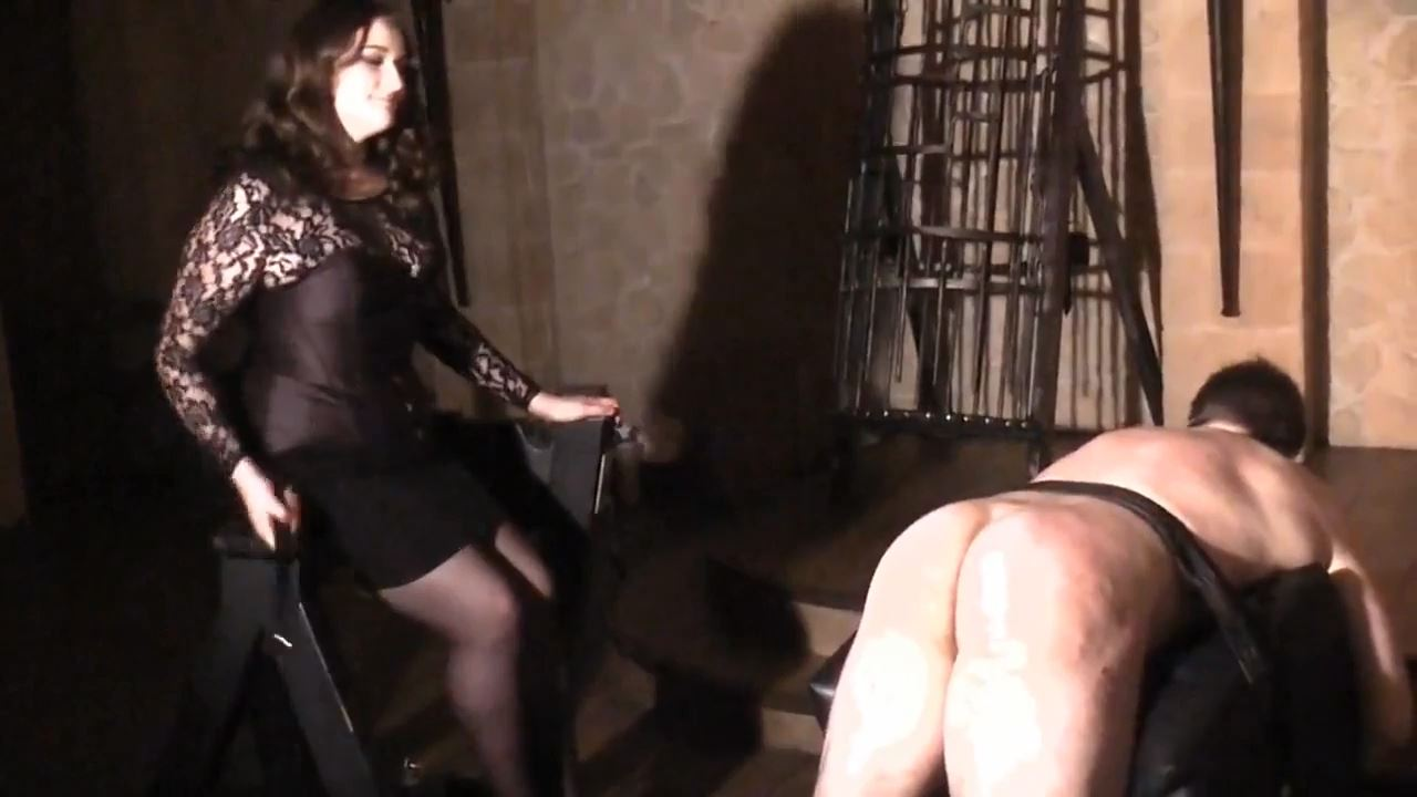 Herrin Selma In Scene: Cruel Whipping - DEUTSCHE DOMINAS / GERMANY FEMDOM - HD/720p/MP4