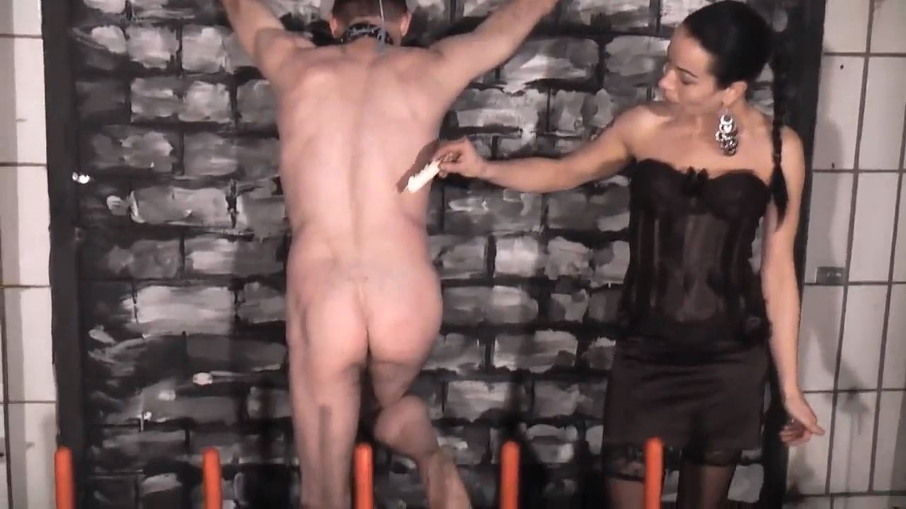 Senora el Combatiente In Scene: Tied and waxed - DEUTSCHE DOMINAS / GERMANY FEMDOM - HD/720p/MP4