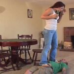 Mistress Ashley is very brutal here as she is stomping all over ladies floor – HEADUNDERHEELS – SD/480p/MP4