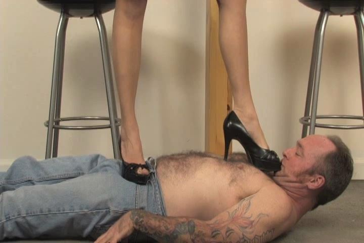 Ladies Floor is once again trampled by his lovely Mistress - HEADUNDERHEELS - SD/480p/MP4