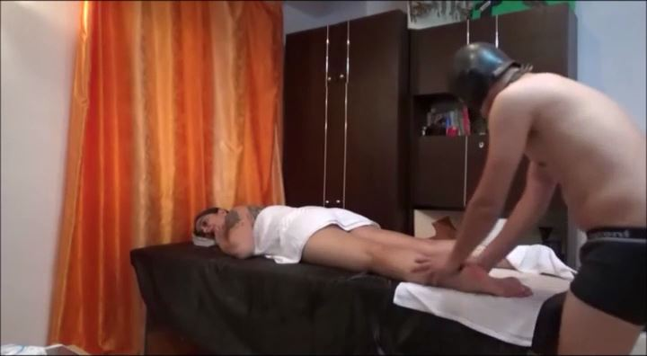 MISTRESS ROBERTA In Scene: Full body massage -part1 - HOUSE OF PAIN - LQ/396p/MP4