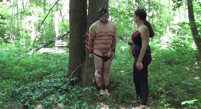 MISTRESS ROBERTA In Scene: Punishment and abandon - HOUSE OF PAIN - LQ/384p/MP4