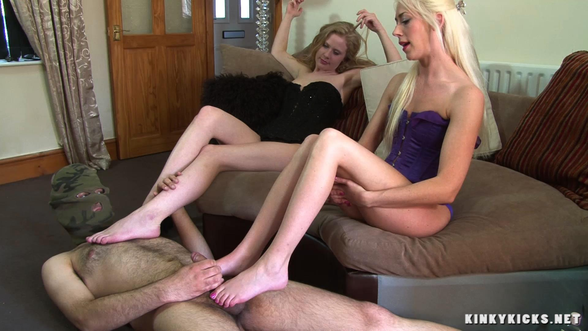 Belle, Charlotte In Scene: Podicure Pet - KINKYKICKS - FULL HD/1080p/MP4