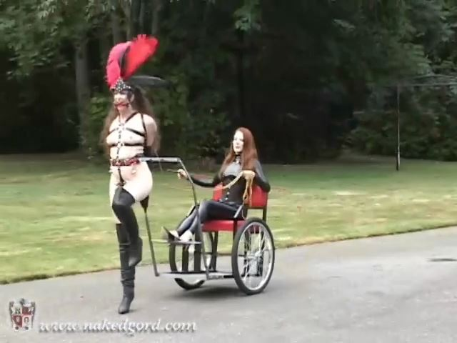 Outdoors with Lydia & Gord Part 2 - KINKYPONYGIRL - SD/480p/MP4