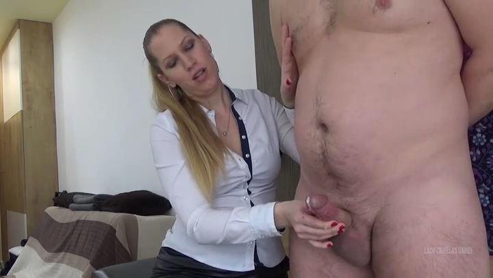Lady Cruella In Scene: Domina therapy - Double orgasm in cuckold style - LADY CRUELLAS GAMES - SD/406p/MP4