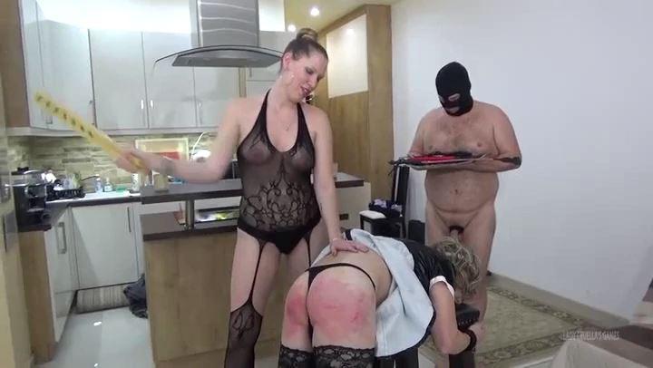 Lady Cruella In Scene: Lady's Harem - Hard spanking - LADY CRUELLAS GAMES - SD/406p/MP4