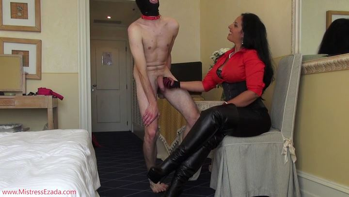 EZADA SINN In Scene: Ballbusting Training Weekend - MISTRESS EZADA - SD/406p/MP4